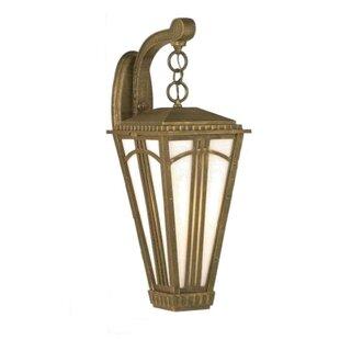 Read Reviews Petrey 1-Light Outdoor Wall Lantern By Alcott Hill