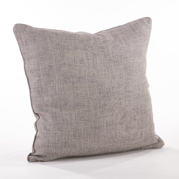 Nabru Linen Throw Pillow by Saro
