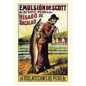 Scott's Emulsion of Cod Oil Vintage Advertisement by Buyenlarge