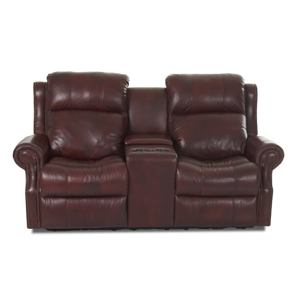 Free S&H Defiance Genuine Leather Reclining 79