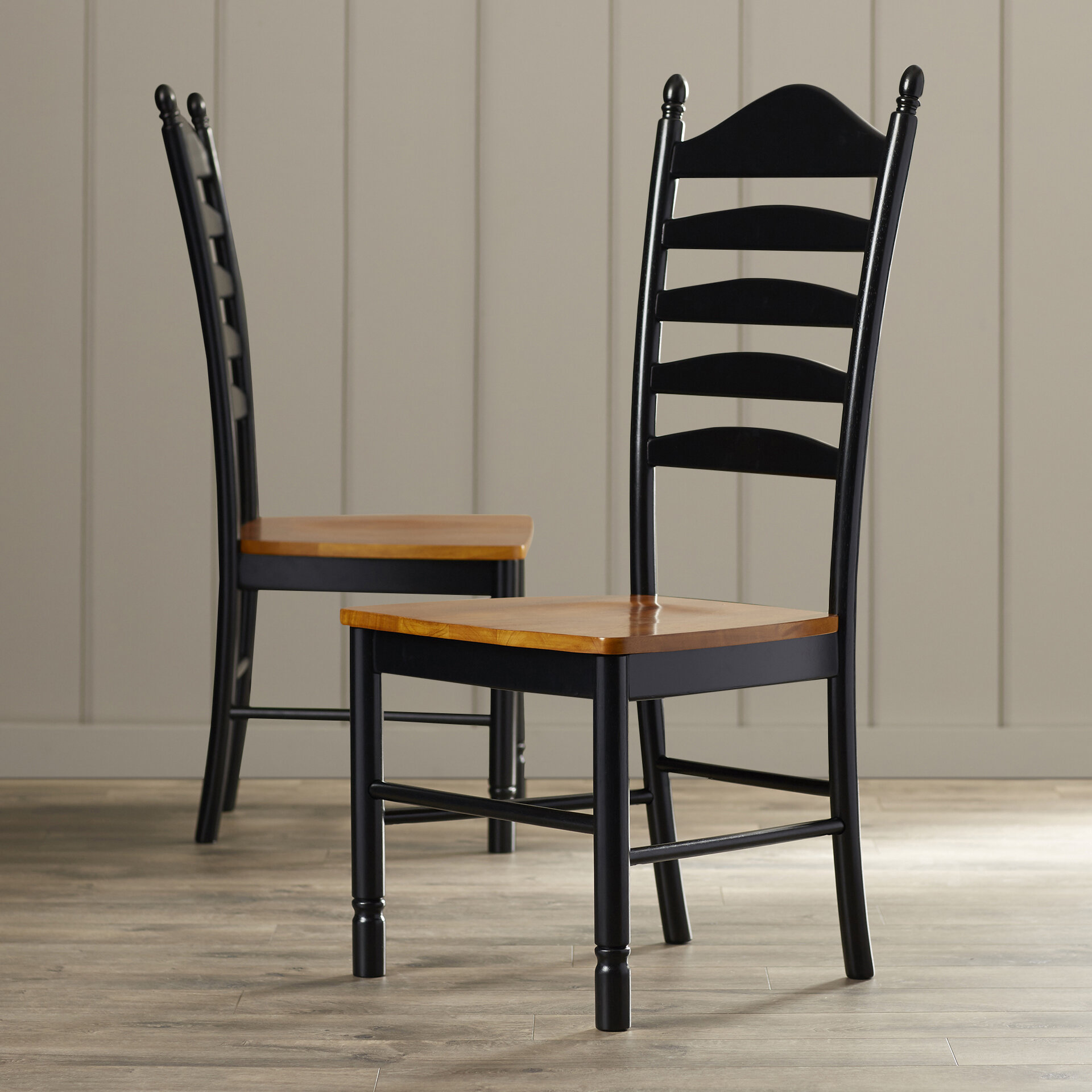 Exceptionnel International Concepts Madison Park Ladderback Solid Wood Dining Chair U0026  Reviews | Wayfair
