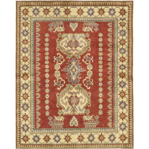 One-of-a-Kind Little Nell Hand-Knotted Wool Brown/Beige Indoor Area Rug by Canora Grey
