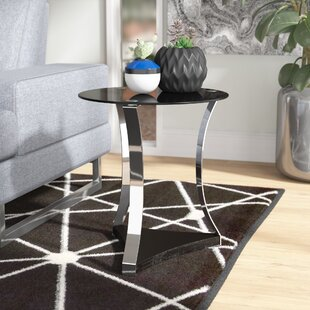 Cassius Glass End Table