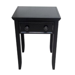 Baileyville 1 Drawer Nightstand by Beachcrest Home