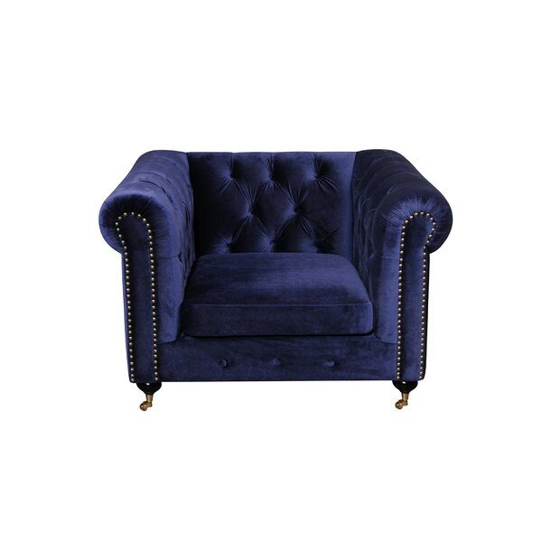 Claire Chesterfield Chair by Everly Quinn