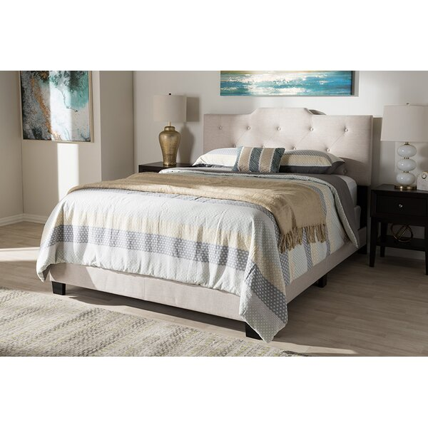 Lavenia Upholstered Standard Bed by Charlton Home