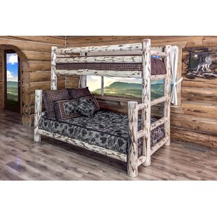 Coupon Abordale Twin over Full Bunk Bed By Loon Peak