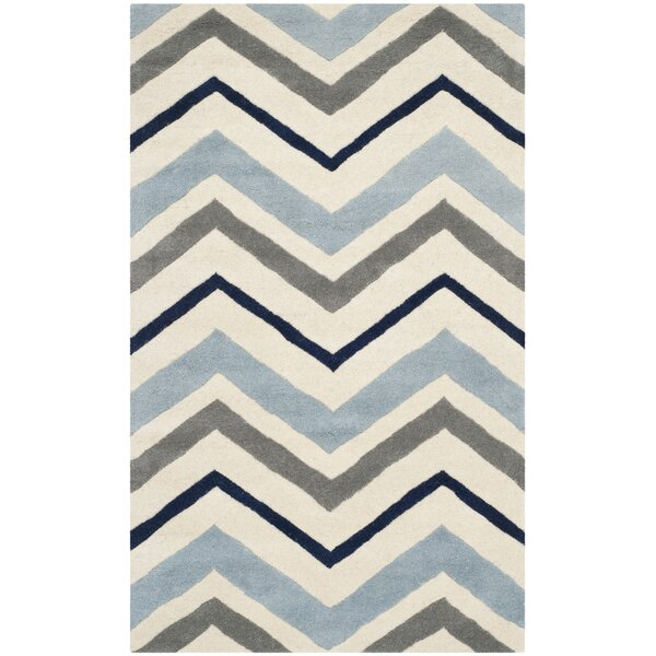 Wilkin Hand-Tufted Wool Area Rug by Wrought Studio