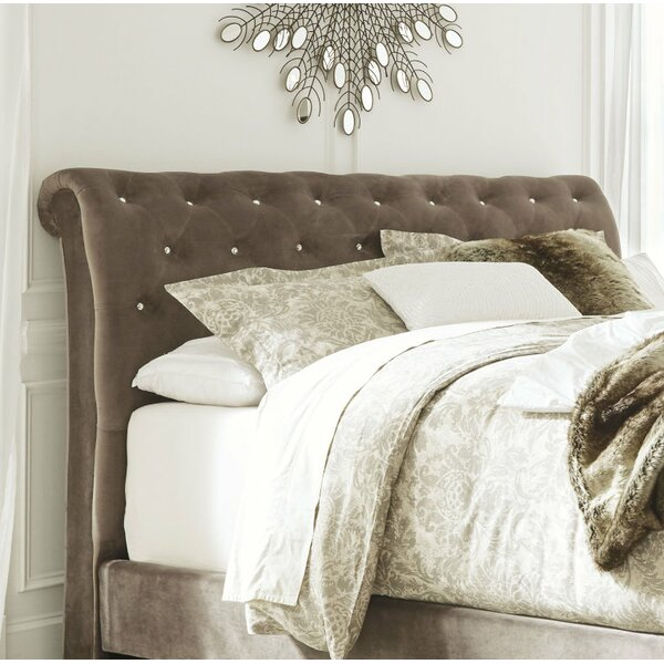 Petry Upholstered Sleigh Headboard by Astoria Grand