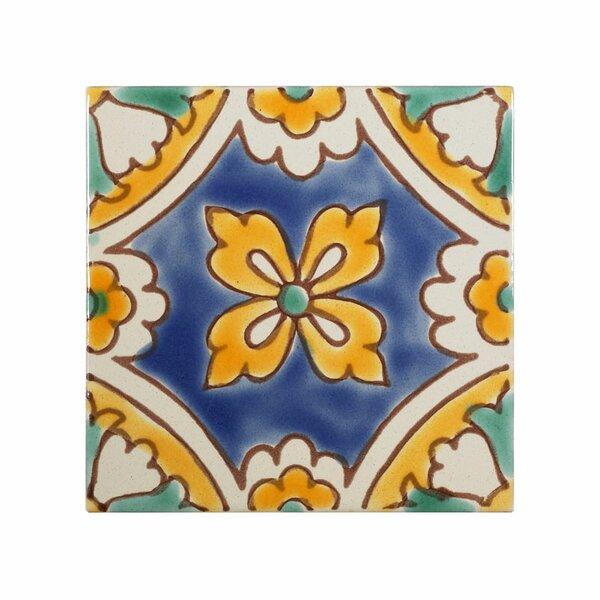 Mediterranean 4 x 4 Ceramic Florence Dux Decorativ