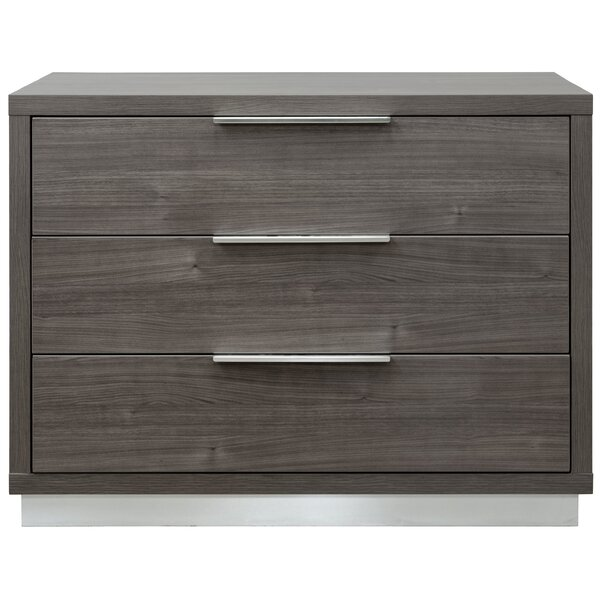 Reprise 3 Drawer Chest by Interia Hospitality