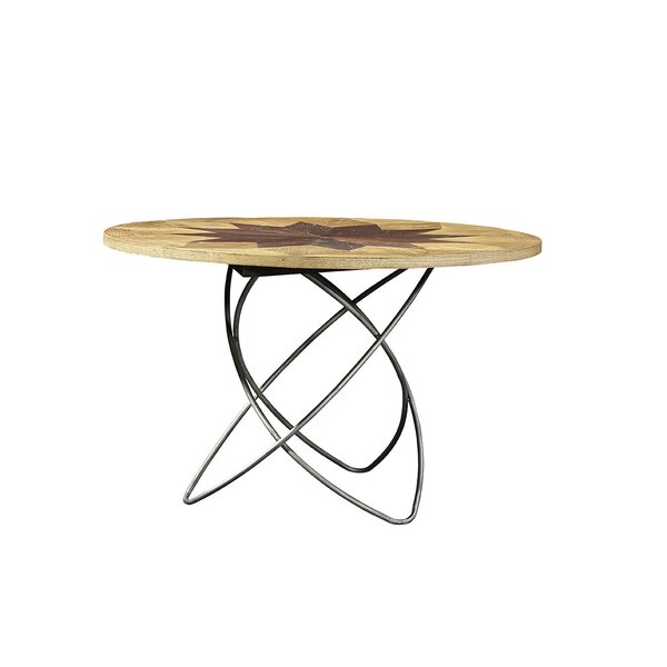 Newton's Solid Wood Dining Table by Furniture Classics