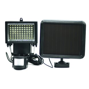 Security LED Outdoor Floodlight By Elegant Home Fashions Outdoor Lighting