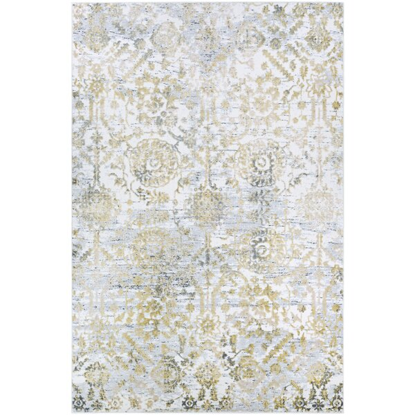 Emily Gold Area Rug by The Twillery Co.