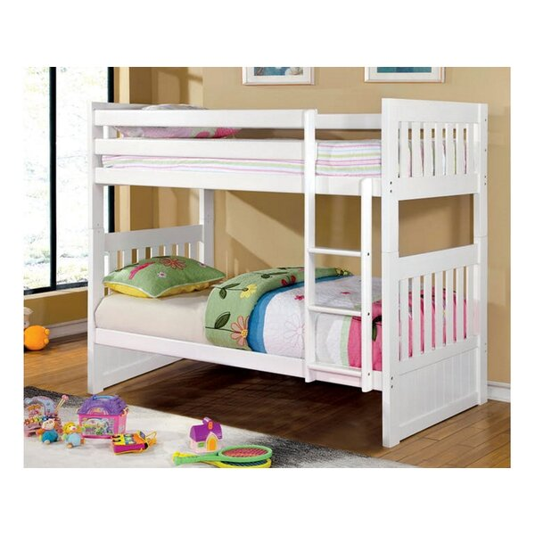 Jost Twin Over Twin Bunk Bed by Harriet Bee