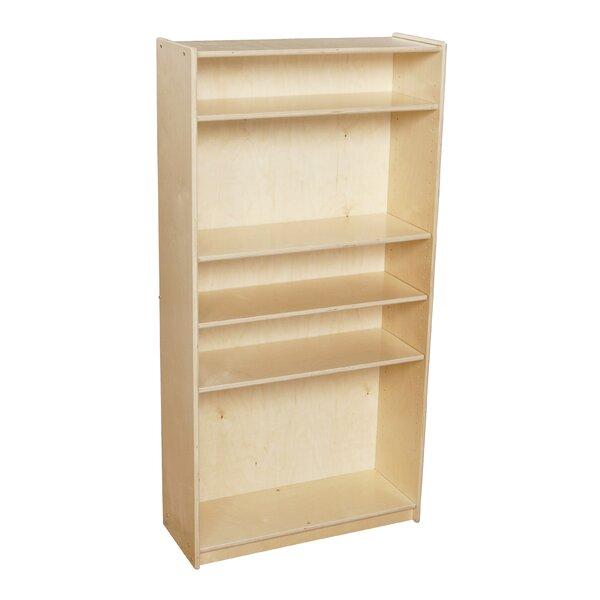 Clarendon 5 Compartment Bookshelf by Symple Stuff