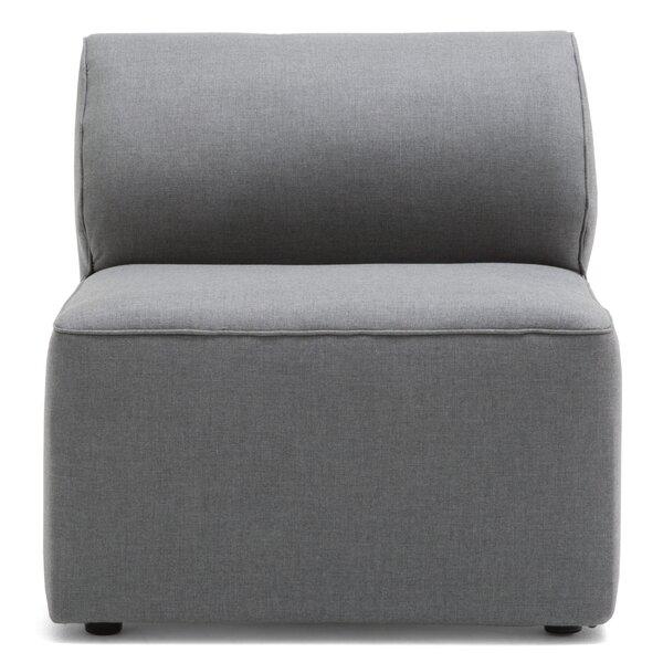 Big Joe Lux Modular Patio Chair with Sunbrella Cushions by Comfort Research