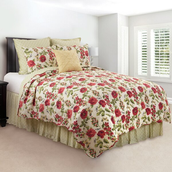 Epperson Cotton Reversible Quilt Set by August Grove