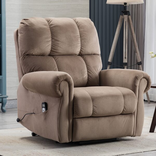 Talleysville Power Lift Assist Recliner with Massage with Heating W003425606