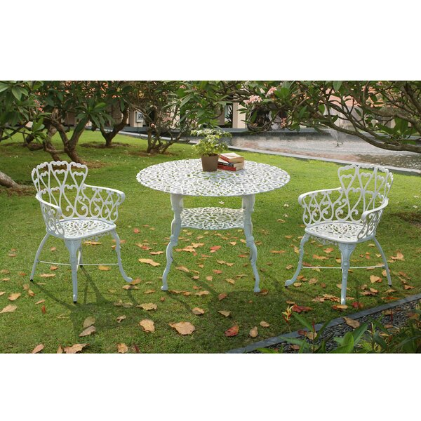 Arriva 3 Piece Bistro Set by Sunjoy
