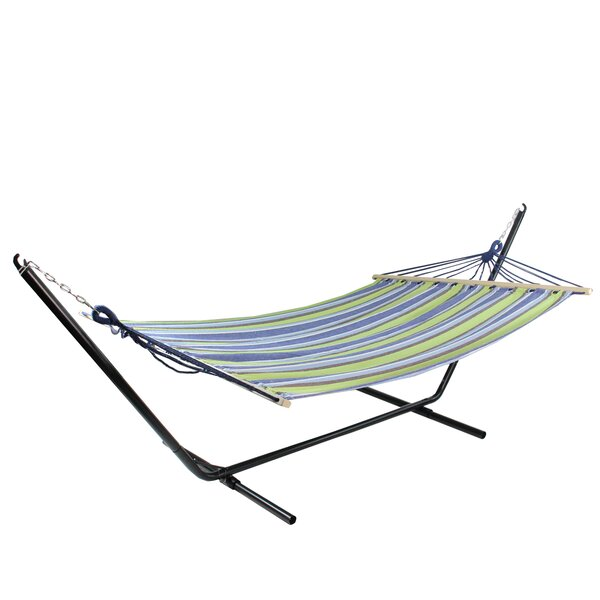 Chad Stripe Tree Hammock by Highland Dunes