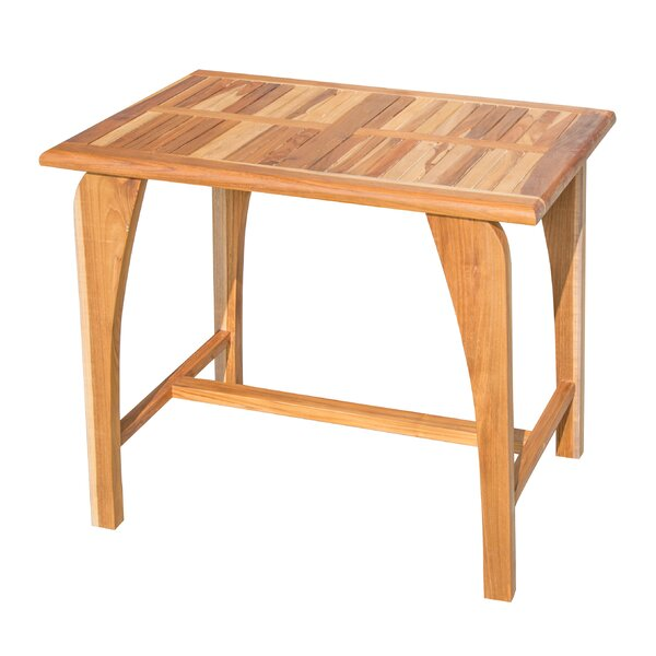 Tranquility Teak Solid Wood Dining Table by EcoDecors