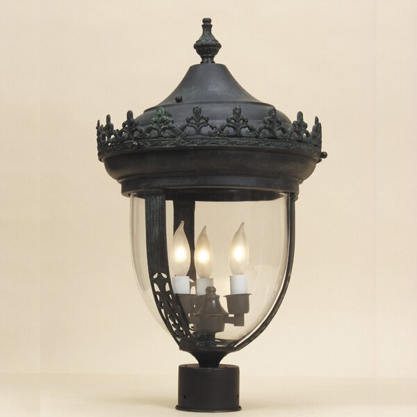 Outdoor 3-Light Lantern Head by JVI Designs