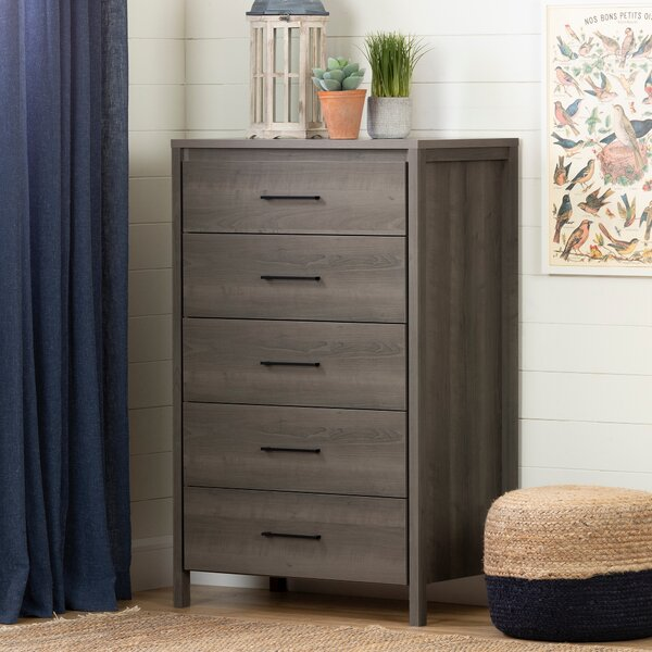 Gravity 5 Drawer Chest by...