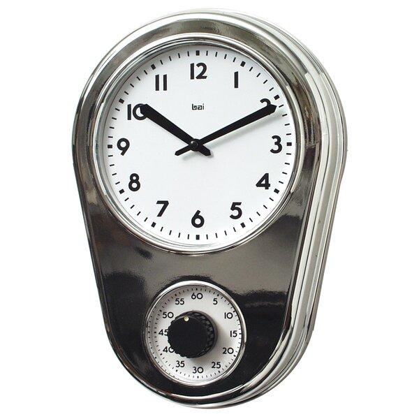 8.5 Kitchen Timer Retro Modern Wall Clock by Bai D