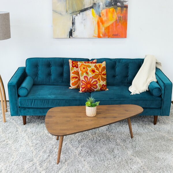 New High-quality Abberton Sofa by Wrought Studio by Wrought Studio