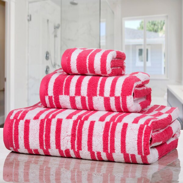 Farnworth Stratus 3 Piece Cotton Towel Set by Ebern Designs