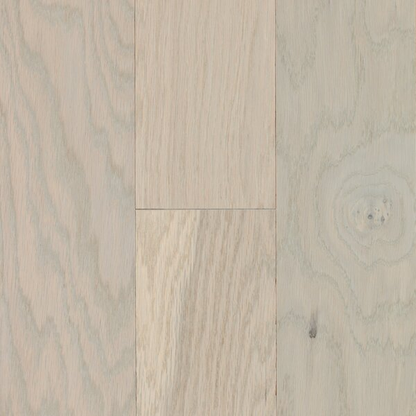 City Escape 5 Engineered Oak Hardwood Flooring in Miami White by Mohawk Flooring