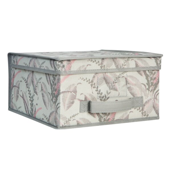 Collapsible Storage Fabric Box by Laura Ashley Home