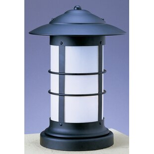Price Check Newport Outdoor 1-Light Pier Mount Light By Arroyo Craftsman