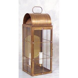 Affordable Xzavier 2-Light Outdoor Wall Lantern By Breakwater Bay