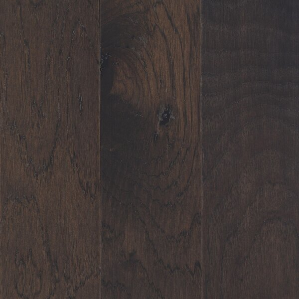 American Villa 5 Engineered Hickory Hardwood Flooring in Thunderstorm Gray by Mohawk Flooring