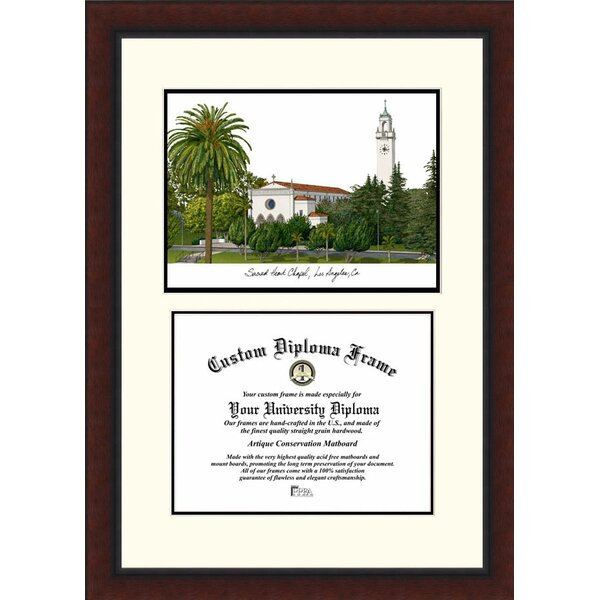 NCAA Loyola Marymount Legacy Scholar Diploma Picture Frame by Campus Images