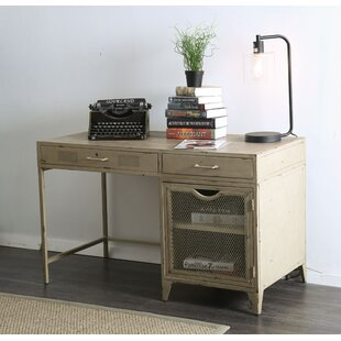 Jacinta Metal Desk by Williston Forge Office Furniture