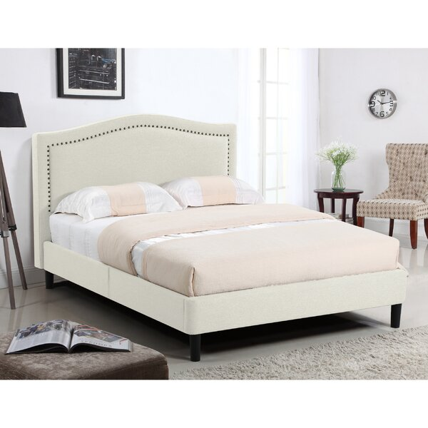 Perseus Queen Upholstered Platform Bed by House of Hampton
