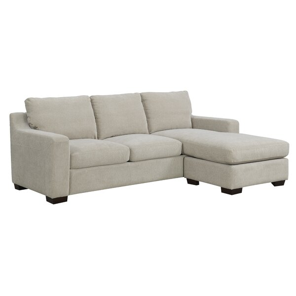 Straley Convertible Sectional With Ottoman By Ebern Designs #1