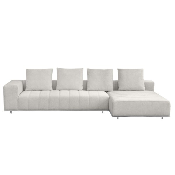 Lebeau Right Hand Facing Sectional By Everly Quinn
