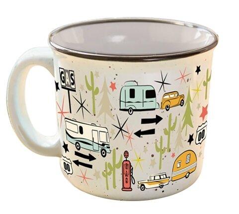Crest Wanderlust Coffee Mug by Winston Porter