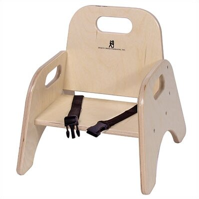 Solid Wood Classroom Chair by Angeles