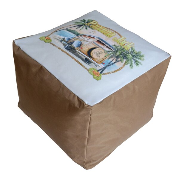 No Problem Pouf Ottoman by Panama Jack Outdoor