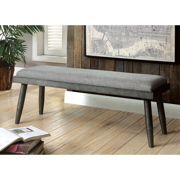 Nolea Solid Wood Bench by Gracie Oaks
