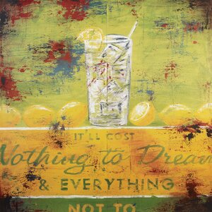 Nothing To Dream by Rodney White Vintage Advertisement on Wrapped Canvas by Rodney White