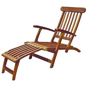 britannia folding steamer lounge chair