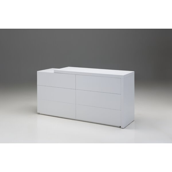Debbi 6 Drawer Double Dresser by Orren Ellis