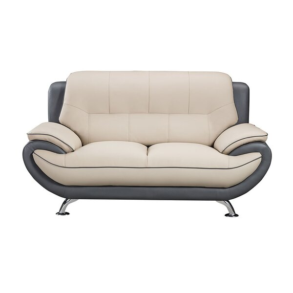 208 Modern Loveseat by American Eagle International Trading Inc.