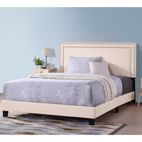 Belkaya Queen Upholstered Standard Bed Platform Bed by Red Barrel Studio